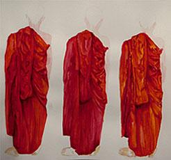 "HABITS | Acrylic on paper  |  18""x24""  |  2008"