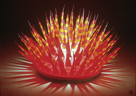 STRIPED URCHIN LAMP | Private Collection