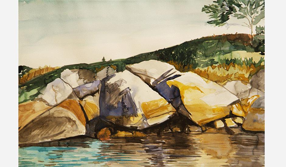 Hadley Harbor Boulders