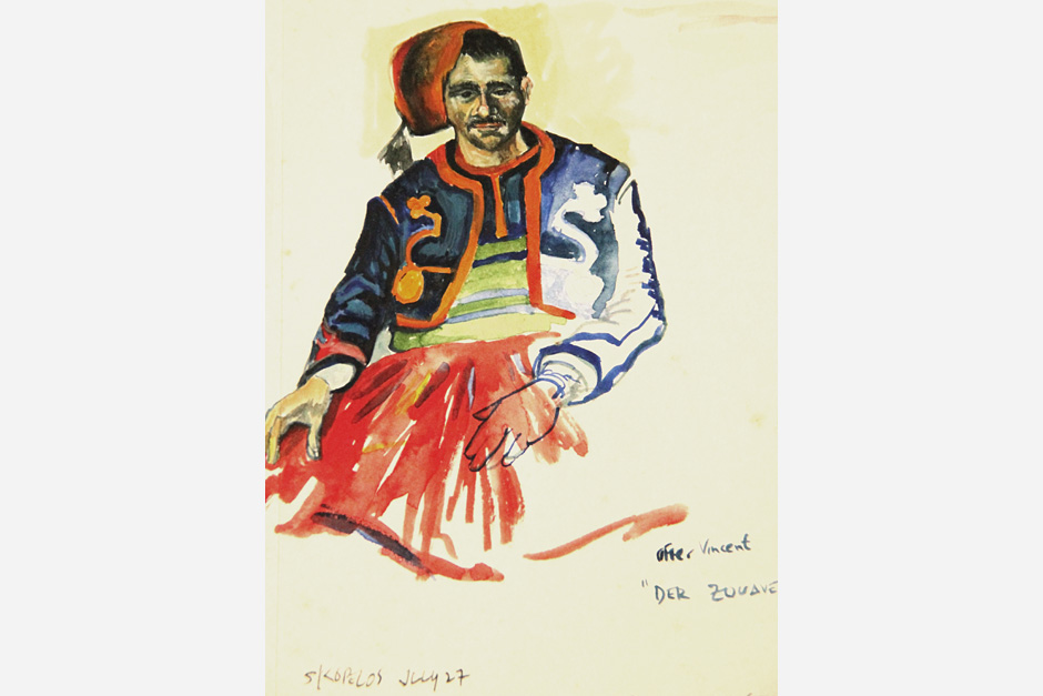 After Van Gogh: Zouave