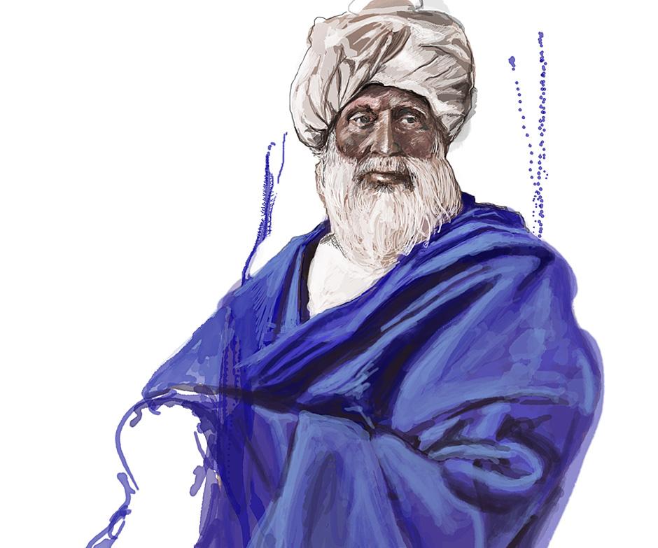Man in Turban (Khattak)